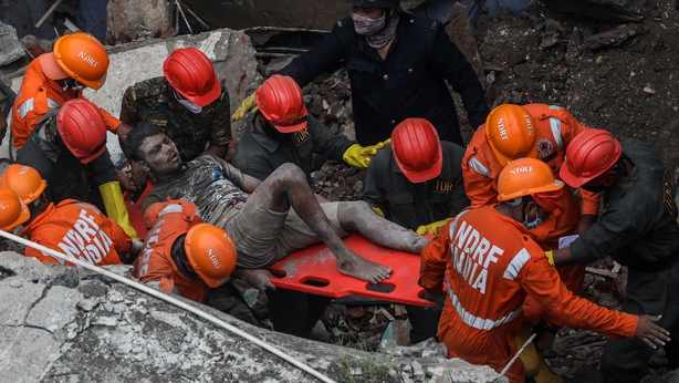 Building collapse India