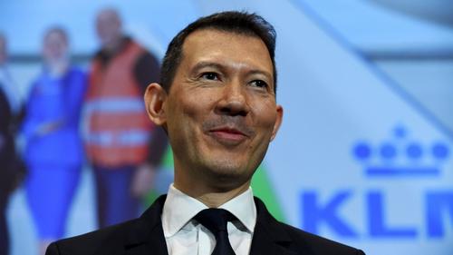 Air France-KLM's chief executive Ben Smith