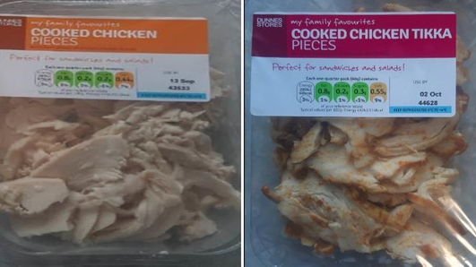 FSAI orders recall of some cooked chicken products