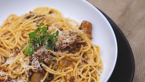 Kevin Dundon's beef and sausage ragu