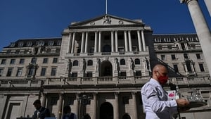 The Bank of England today left UK interest rates unchanged at 0.1%