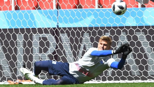 Arsenal sign Iceland goalkeeper Runarsson
