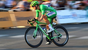 Sunday was just the sixth time the green jersey has won on the Champs-Elysées