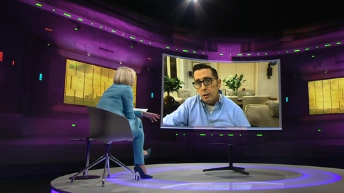 """Christy Dignam on Claire Byrne Live - """"The savings we have are gone"""""""