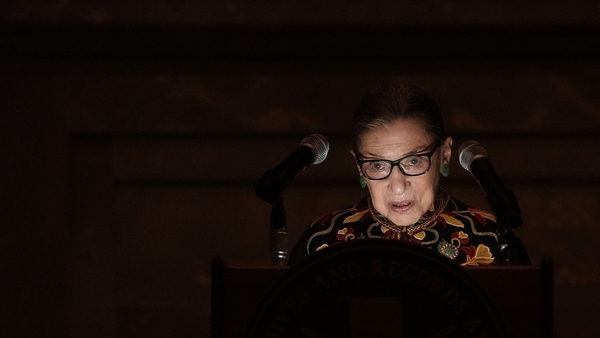 The late US Supreme Court Justice Ruth Bader Ginsburg is one of many who have died from pancreatic cancer