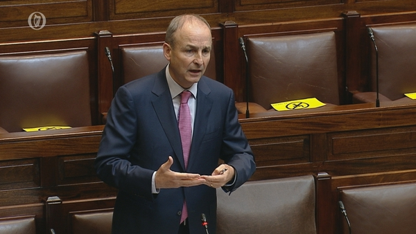 Micheál Martin has defended the Government's appointment of ten special advisers for Junior Ministers