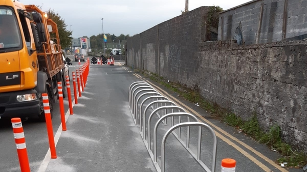 The works on Dyke Road were carried out last weekend (Pic: Galway City Council)