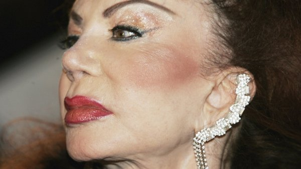 Jackie Stallone pictured at the British Comedy Awards in 2005