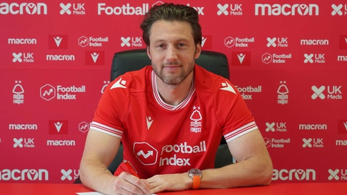 Harry Arter spent the last two seasons on loan at Cardiff City and Fulham, but joins Forest on a permanent deal