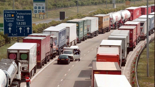 Hauliers have been warned delays could be in place for at least three months