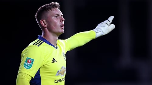 Dean Henderson has made just three appearances for Manchester United this season