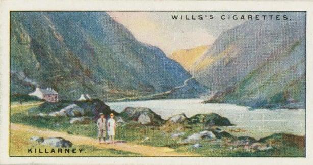 A picture postcard of Killarney Photo: New York Public Library