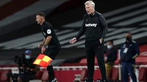David Moyes initially attributed a sore throat to shouting, according to West Ham co-owner David Sullivan