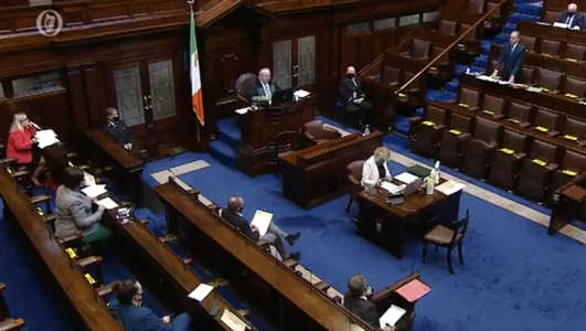 Martin & McDonald clash in Dáil exchange