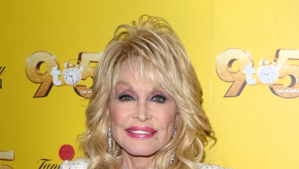 "Dolly Parton: ""So I would just click my nails, making them sound like a typewriter. Then I used that sound as my music."""