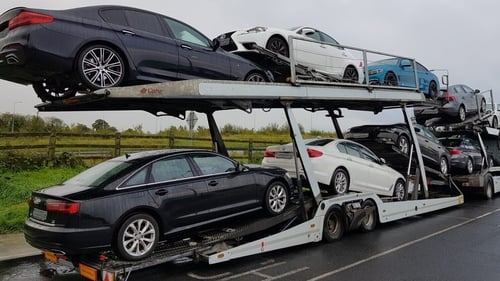 The vehicles were seized last September