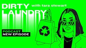 Dirty Laundry host Tara Stewart introduces her latest guest,Edinburgh based entrepreneur Cally Russell.