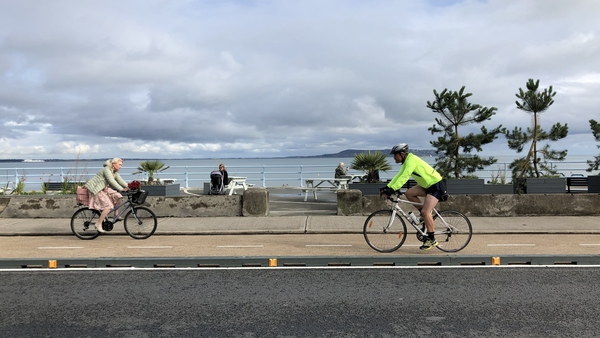 The 3.9km route has been welcome by the 17,000 people cycling on it weekly