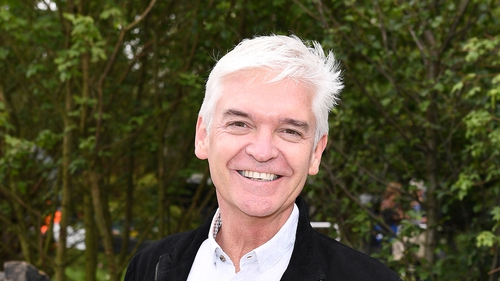 """Phillip Schofield: """"It is extraordinary how the clouds break up and a little bit of sunshine can come through"""""""