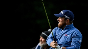 Shane Lowry had a tough day at the office