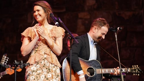 Mandy Moore and Taylor Goldsmith at a This Is Us live event in Hollywood in June 2019