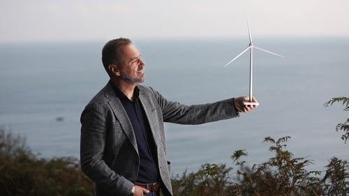 Arno Verbeek is the new Project Director of the Codling Wind Park, off the coast of Wicklow