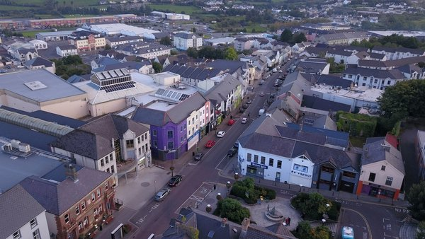 Letterkenny has the highest 14-day incidence rate in the country