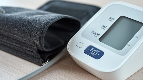 Patients monitor their blood pressure and other levels as part of the programme
