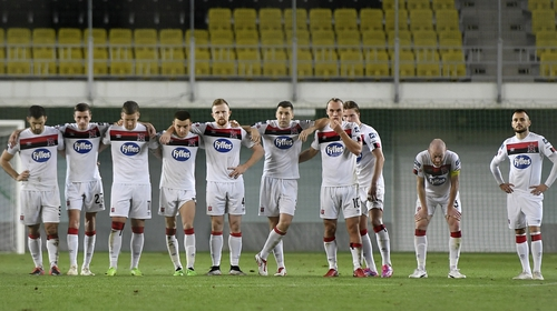 Dundalk are one game away from the Europa League group stages