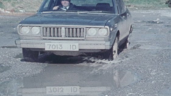 A bad road in 1980.