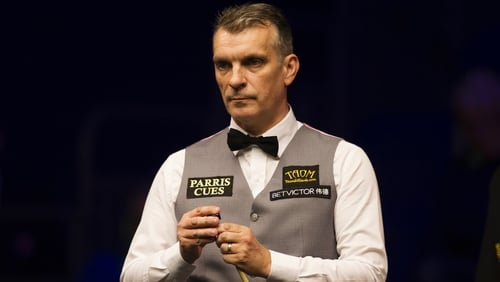 Mark Davis was due to face world number four Mark Selby in the third round