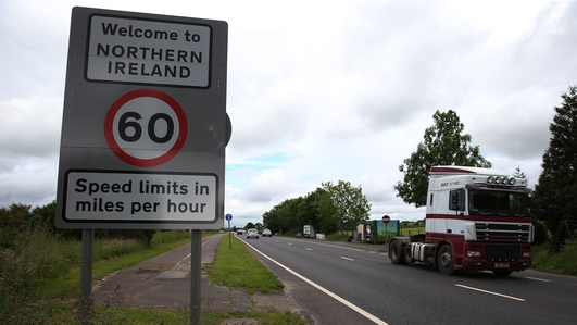 DUP says topic of border poll is 'reckless'