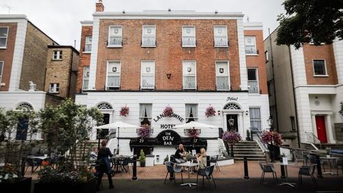 The family-run Lansdowne Hotel in Dublin's Ballsbridge