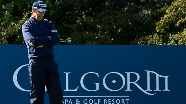 Nothing would drop for Harrington on the back nine at Galgorm