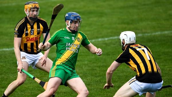 Colin Crehan (C) scored a decisive goal against Ballyea in the Clare SHC semi-final
