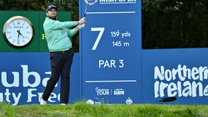 Shane Lowry is trying to play his way back into the tournament but has yet to get going