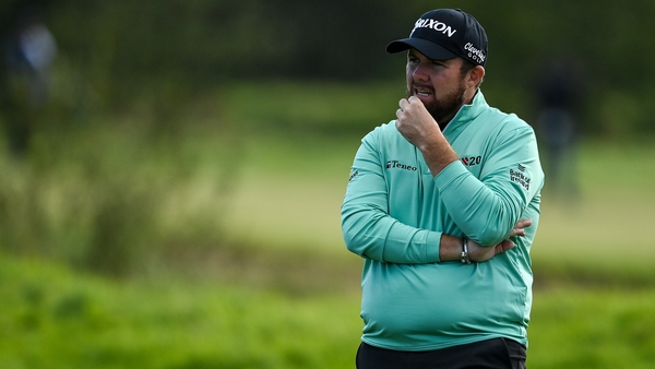 It was a disappointing day for Shane Lowry