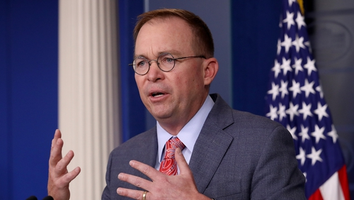 Mick Mulvaney was appointed to the vacant US Special Envoy position in March