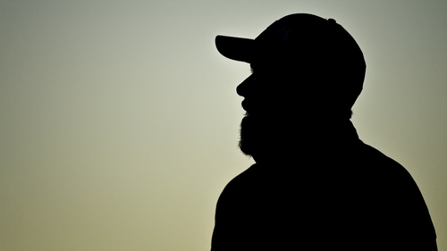 The sun was setting as Shane Lowry completed his round in Antrim