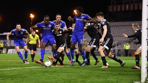 Andre Wright scores the winner for Bohemians in the 96th minute