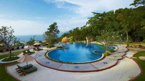 A picture of the Sea View Resort in Thailand as shown on its website