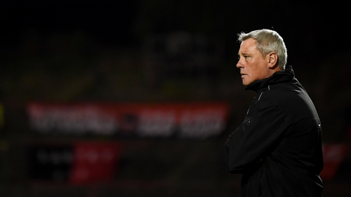 Bohemians manager Keith Long during the win over Derry City