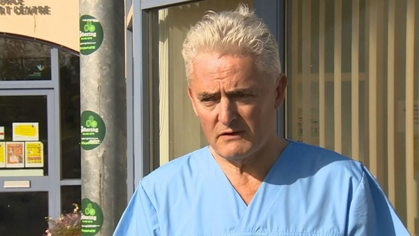 Dr Martin Coyne, who is based in Lifford, said that people are interpreting a negative test as them being 'fine', when 'it doesn't mean that'