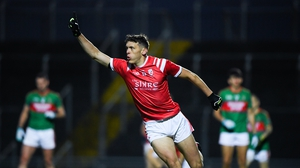 David Clifford celebrates after scoring East Kerry's first goal