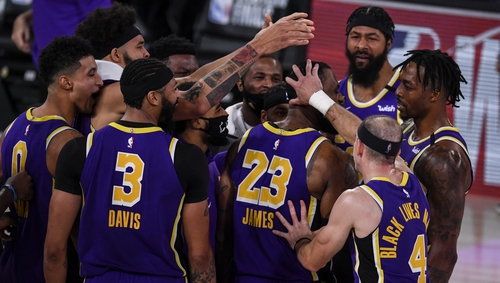 The Lakers are back in the final