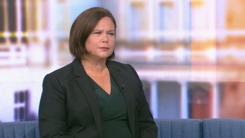 Speaking on RTÉ's The Week in Politics, Mary Lou McDonald described the move as 'unfair and wrong' at a time when substantial parts of the economy are still in a shutdown
