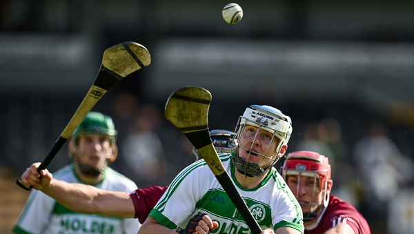TJ Reid keeps his eye on the ball as Ballyhale Shamrocks comfortably defended their Kilkenny title