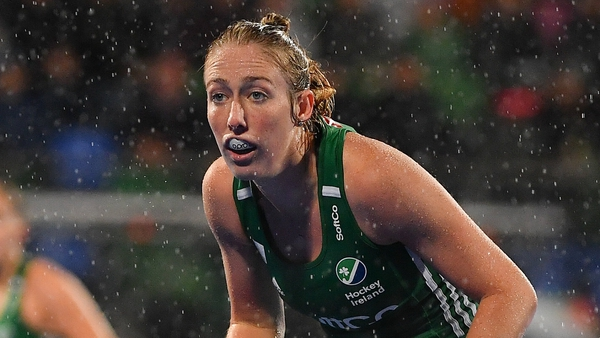 Ireland star Sarah Hawkshaw was in fine form for Railway Union