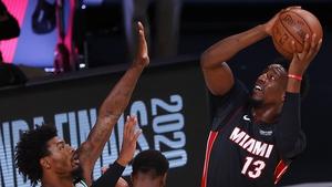 Bam Adebayo helped the Heat to the NBA Finals