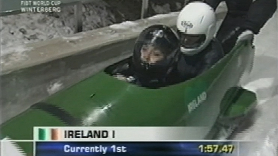 Ireland Women's Bobsleigh Team